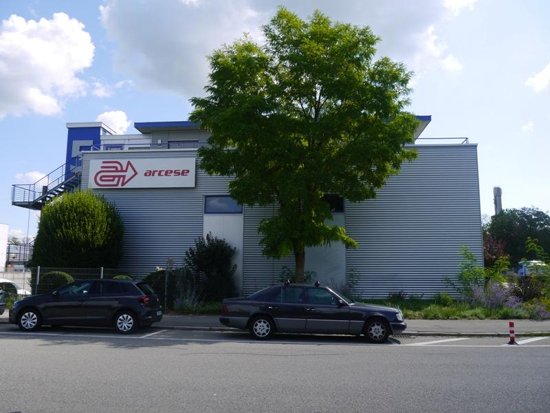 Grundstrück mit Logistikzentrum in Singen
